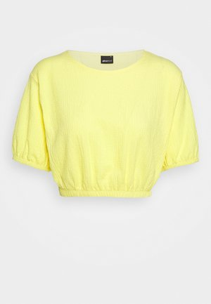 AMINA - T-shirt basic - lemon meringue