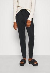 Vero Moda Tall - VMEVA LOOSE STRING SOFT PANT  - Trousers - black - 0