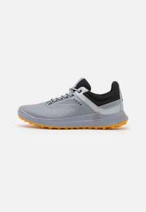 M.CORE - Golf shoes - silver grey/silver metallic/black