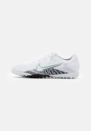 MERCURIAL VAPOR 13 PRO MDS TF - Astro turf trainers - white/black