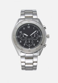 Topman - CHUNKY LINK WATCH - Watch - silver-coloured - 0