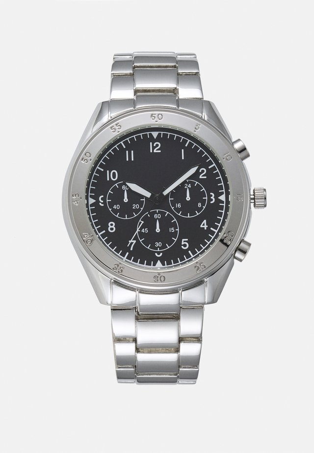 CHUNKY LINK WATCH - Orologio - silver-coloured