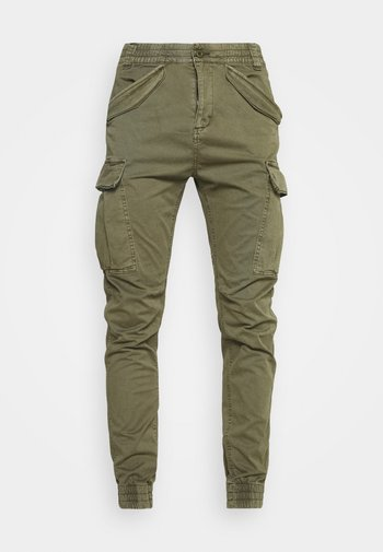 VILLANUVA - Pantaloni cargo - army