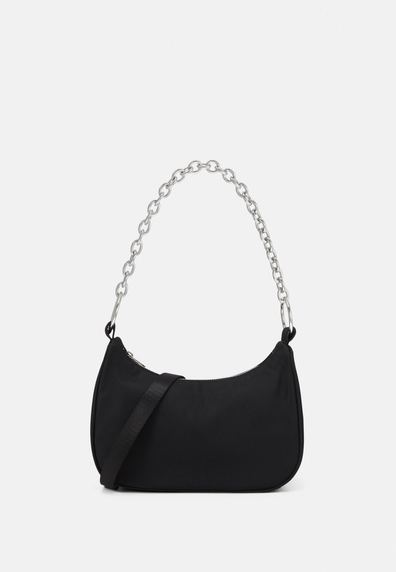 Weekday - CHAIN HANDBAG - Handbag - black