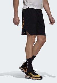 adidas Performance - Pantalón corto de deporte - black - 4