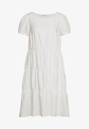 ULRIKKALC SHORT DRESS - Day dress - snow white