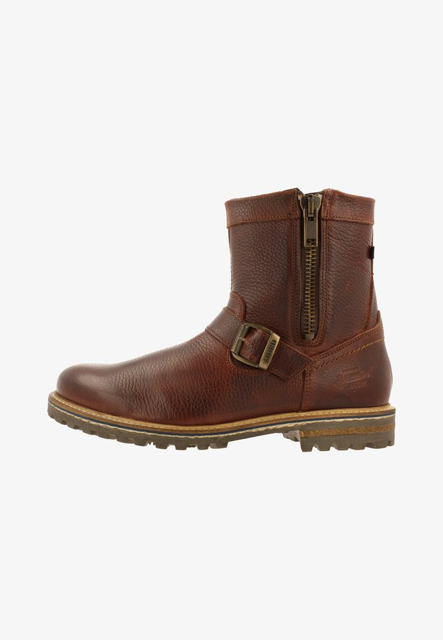 CONNOR HIGH TMB - Classic ankle boots - cognac