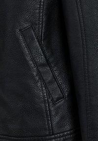 Produkt - Veste en similicuir - black - 3