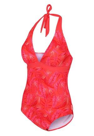 FLAVIA  - Swimsuit - red sky trop