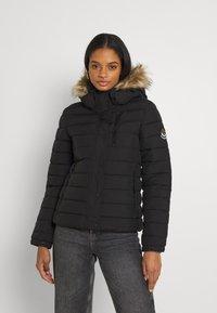 Superdry - CLASSIC FUJI JACKET - Winter jacket - black - 0