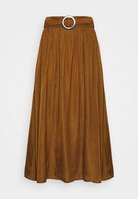Soyaconcept - SC-PAMELA 26 - A-snit nederdel/ A-formede nederdele - dark caramel - 3