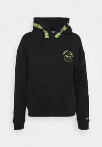Tommy Jeans - TAPE HOODIE - Sweatshirt - black - 4