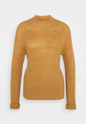VITURA TURTLE NECK - Pullover - tigers eye