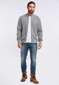 DreiMaster - DREIMASTER - Zip-up hoodie - grey melange - 1