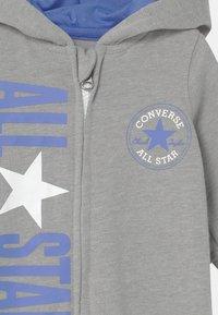 Converse - COSMIC HOODED UNISEX - Jumpsuit - grey heather - 2