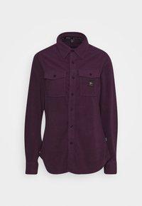 Rojo - MAIN STREET - Button-down blouse - blackberry wine - 4
