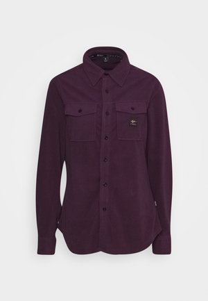 MAIN STREET - Button-down blouse - blackberry wine
