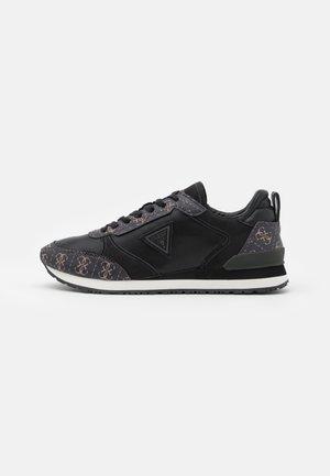NEW GLORYM - Sneakersy niskie - brown/ocra