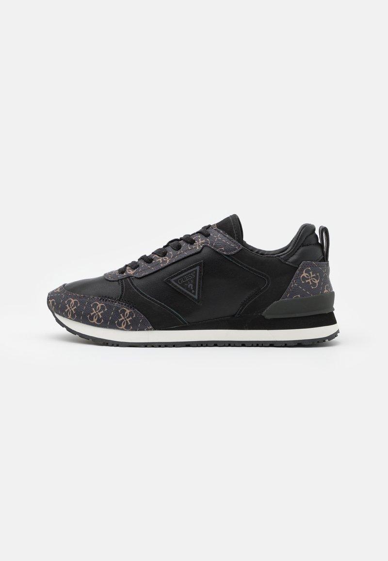 Guess - NEW GLORYM - Sneakers basse - brown/ocra