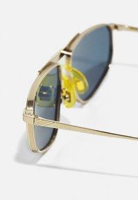 Gucci - Solglasögon - gold-coloured/gold-coloured/blue - 4