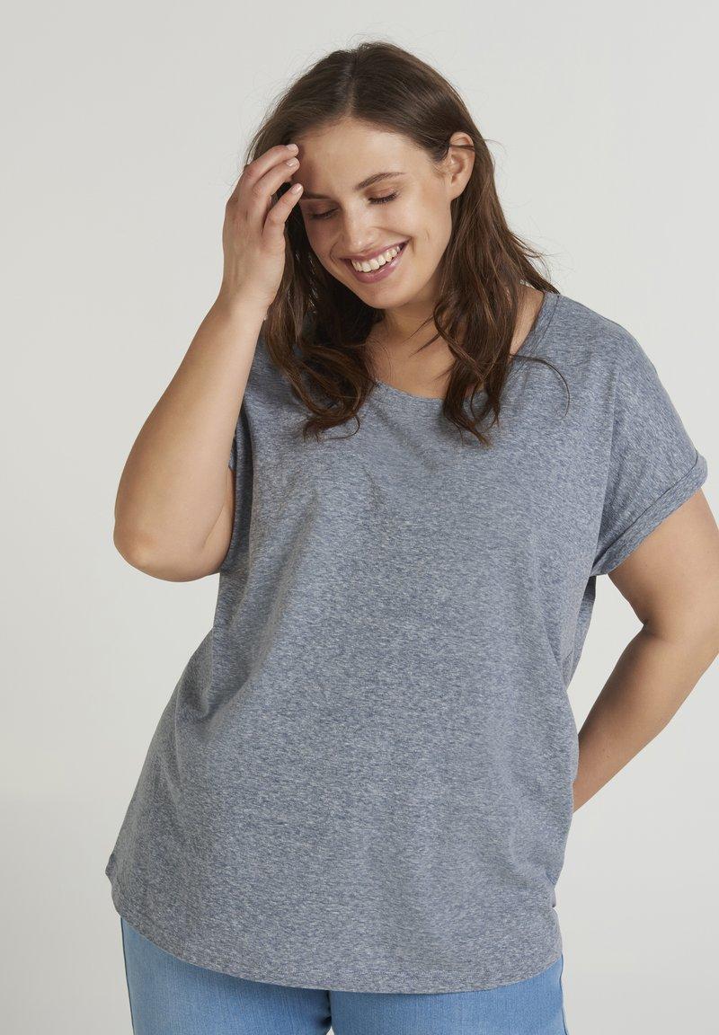 Zizzi - T-shirts - dark blue