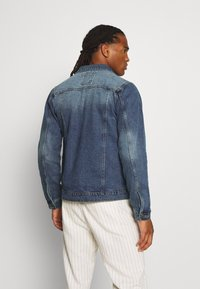 Brave Soul - FIELDING - Giacca di jeans - blue denim - 2