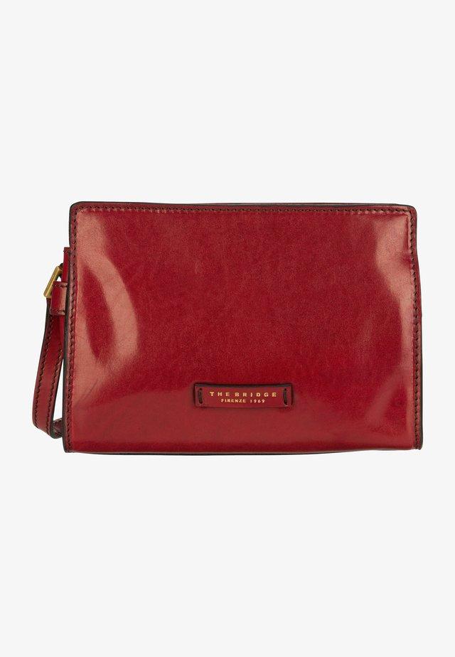 BIANCA  - Across body bag - rosso ribes/oro