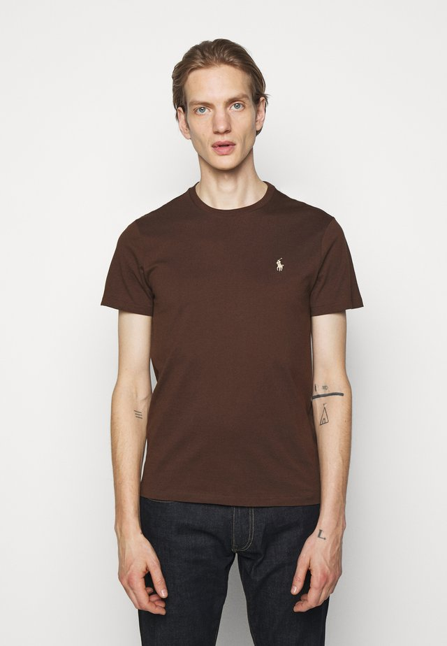T-shirt basique - cooper brown