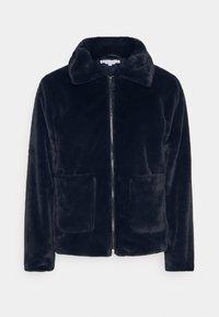 CALEB FUR JACKET - Winter jacket - navy