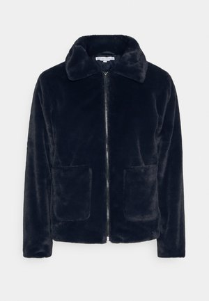 CALEB FUR JACKET - Winter jacket - navy