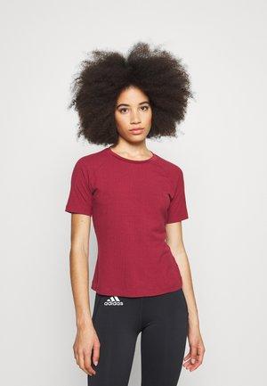 TEE - Basic T-shirt - noble maroon