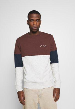 JORNATHAN CREW NECK  - Sweatshirt - deep mahogany