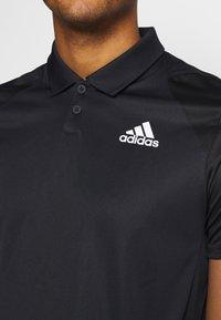 adidas Performance - CLUB - T-shirt de sport - black/white - 5