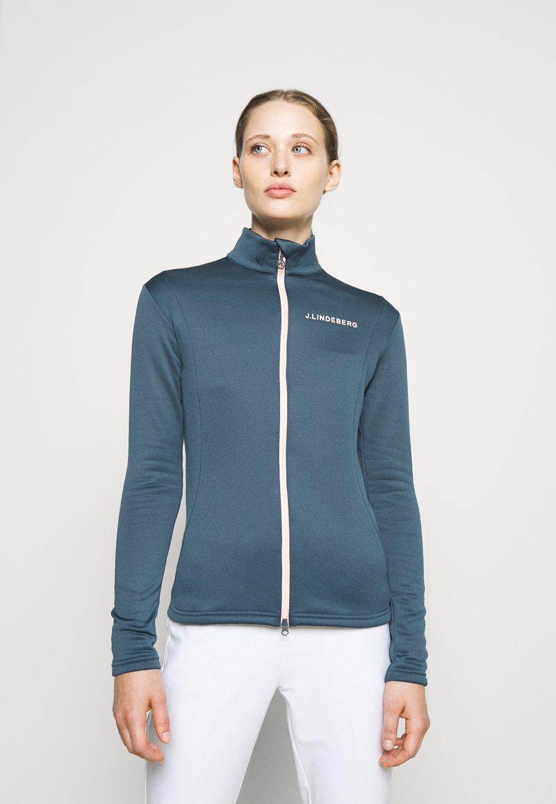 J.LINDEBERG - KATI GOLF MID LAYER - Fleece jacket - orion blue