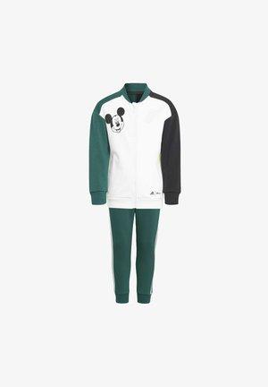 LK DY MINI ME - Tracksuit - white/green/black