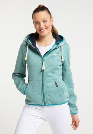 Outdoor jacket - turquoise melange