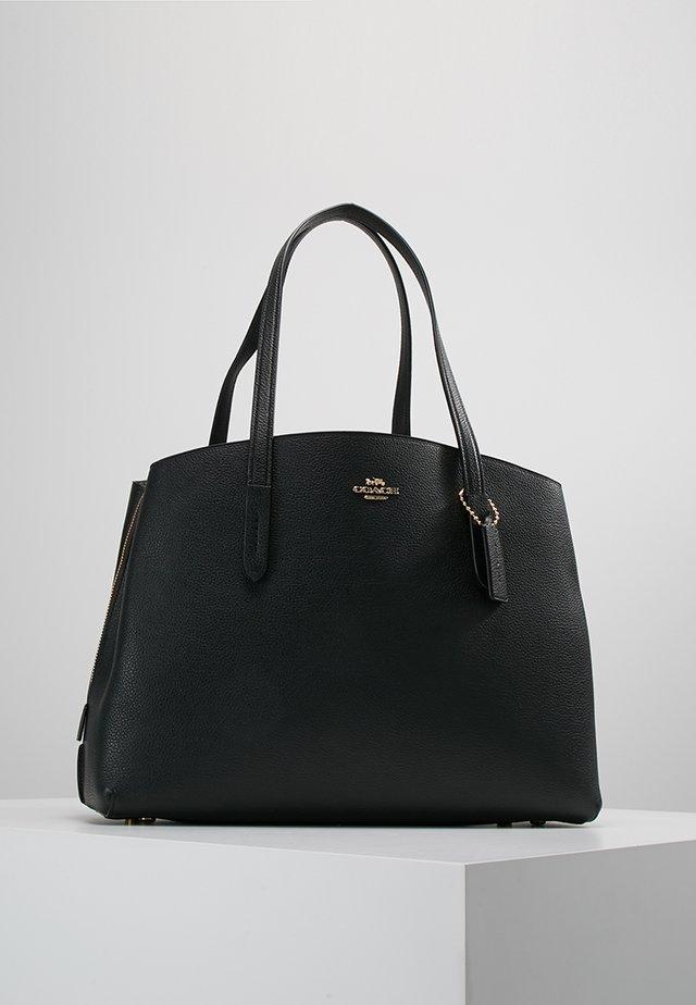 CHARLIE - Tote bag - gold/black