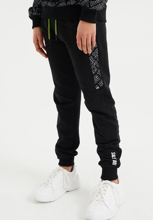 SALTY DOG - Trainingsbroek - black