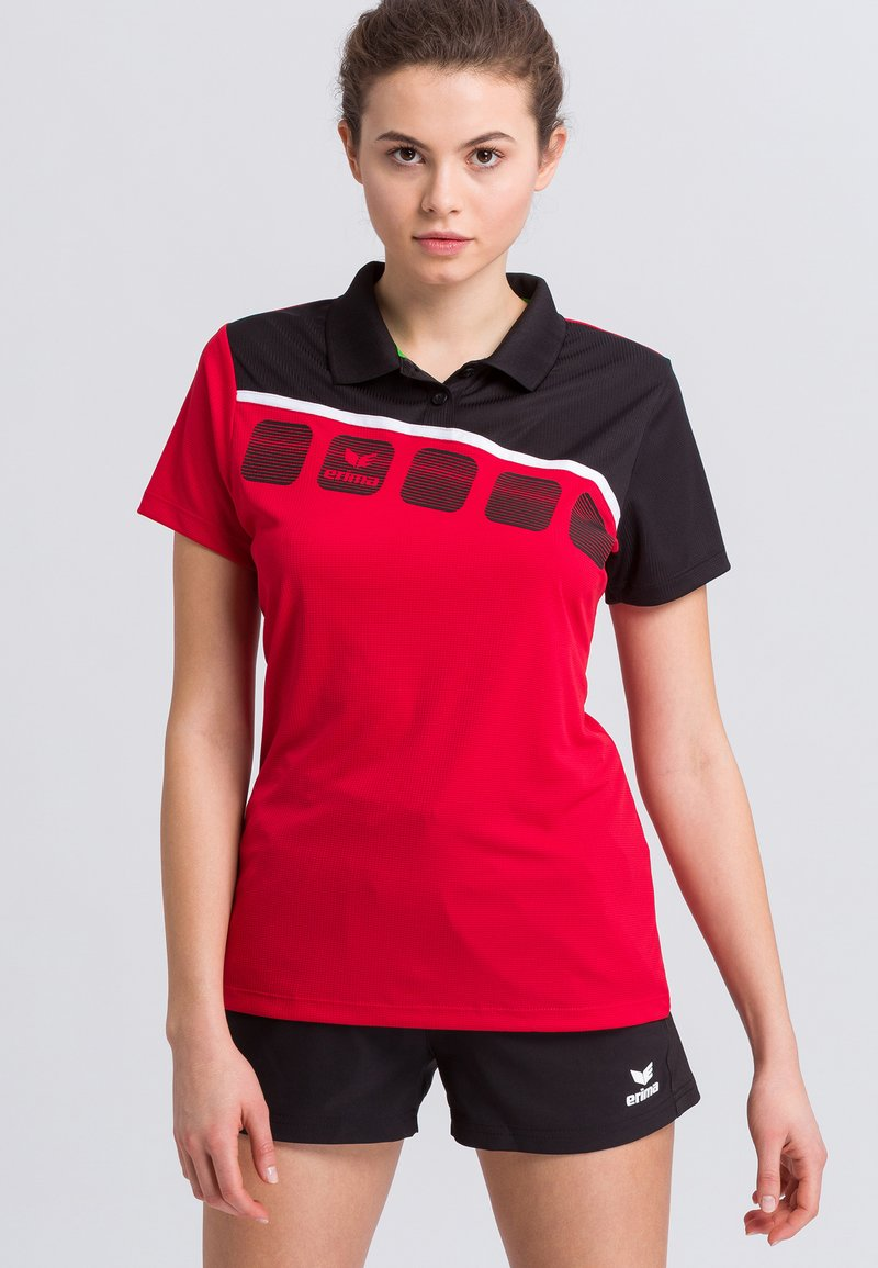Erima - Sports shirt - red/black/white