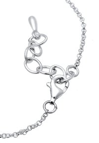 Elli - Kreis Plate - Necklace - silver-coloured - 3