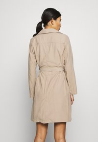 Dorothy Perkins - BUTTON FRONT - Trench - stone - 2