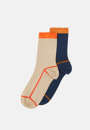 LIV 2 PACK - Socks - black/dark blue