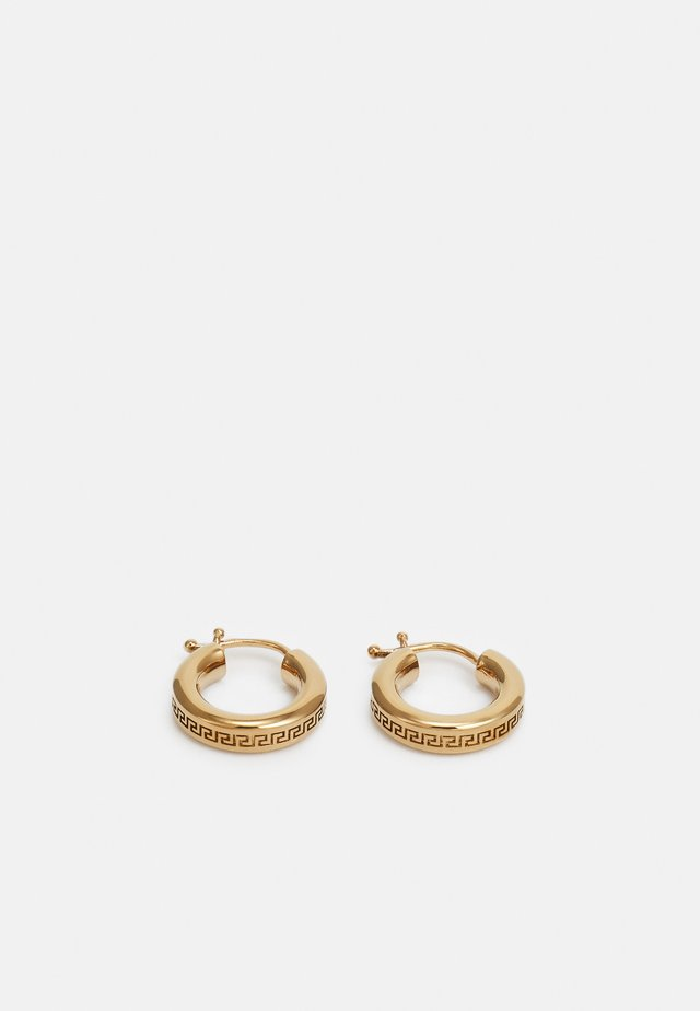 GRECA EARRINGS UNISEX - Orecchini - oro