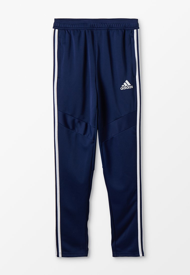 adidas Performance - TIRO AEROREADY CLIMACOOL FOOTBALL PANTS - Pantalones deportivos - dark blue/white