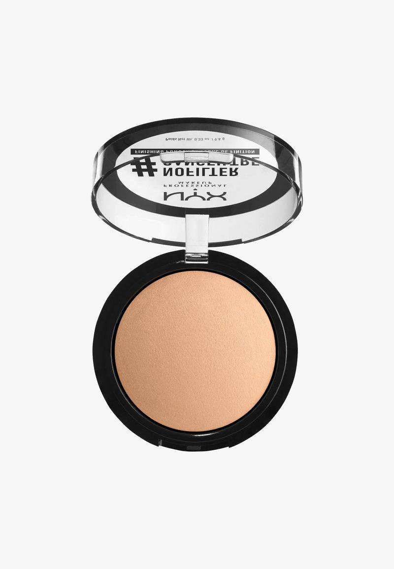 Nyx Professional Makeup - NOFILTER FINISHING POWDER - Powder - 7 medium olive