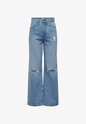 ONLBIANCA EX - Flared Jeans - light blue denim