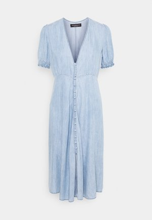 DRESS - Denim dress - medium blue