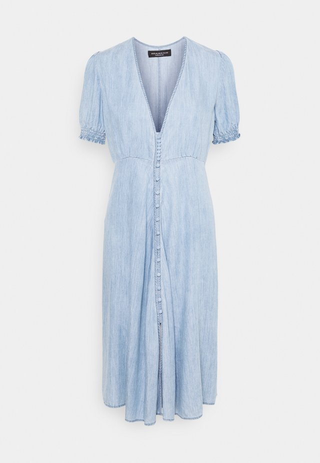 DRESS - Sukienka jeansowa - medium blue
