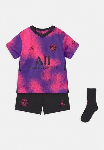 PARIS ST GERMAIN SET UNISEX - Club wear - hyper pink/black