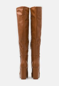 RAID - CAROLINA - High heeled boots - cognac - 3
